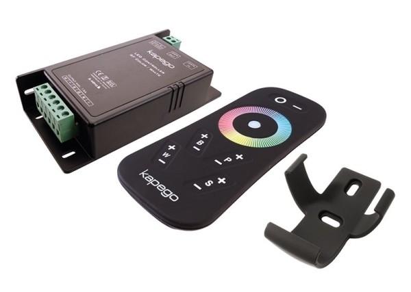Deko-Light Controller, RF RGB + White Remote, Kunststoff, Schwarz, 12-24V, 115x57mm