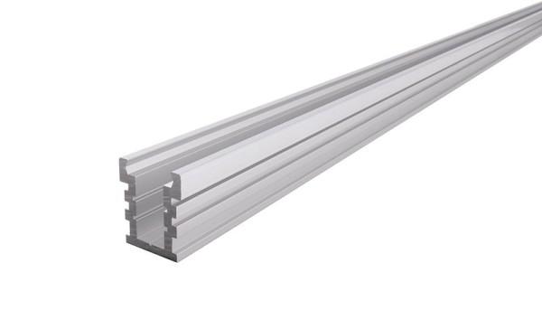 Reprofil Profil, IP-Profil, U-hoch, befahrbar EU-01-12, Aluminium, Silber-matt, 2000mm
