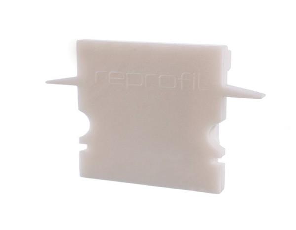 Reprofil Profil Zubehör, Endkappe H-ET-02-15 Set 2 Stk, Kunststoff, Weiß, 30x6mm