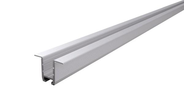 Reprofil Profil, Trockenbau-Profil, Wand-Decke ET-03-10, Aluminium, Silber-matt eloxiert, 2000mm