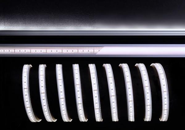 Deko-Light Flexibler LED Stripe, 3528-180-24V-6500K-5m-Silikon, Kupfer, Weiß, Kaltweiß, 120°, 55W