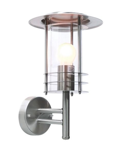Kapego Wandaufbauleuchte, Kri I, exklusive Leuchtmittel, spannungskonstant, 220-240V AC/50-60Hz, E27