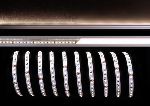 Deko-Light Flexibler LED Stripe, 3528-120-12V-3000K+6500K-5m, Kupfer, Weiß, Warmweiß + Kaltweiß, 38W