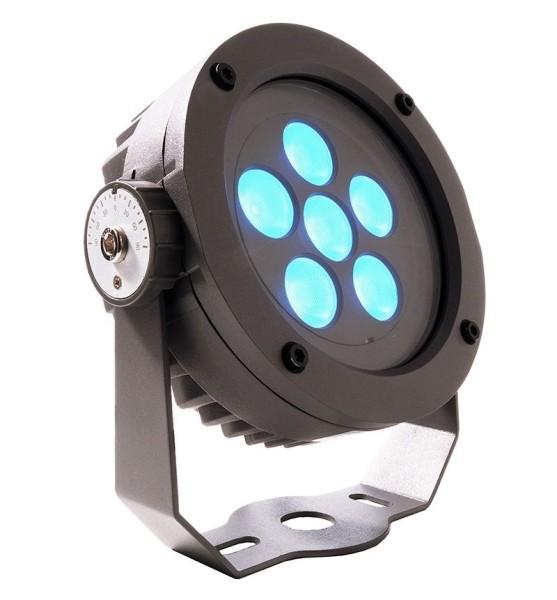 Deko-Light Boden- / Wand- / Deckenleuchte, Power Spot II RGB, Aluminium Druckguss, anthrazit, RGB