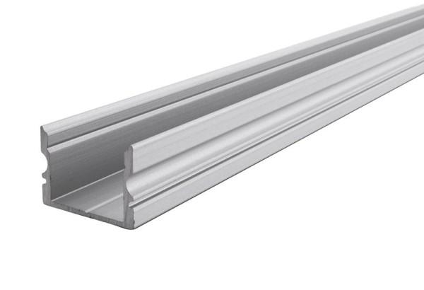 Reprofil Profil, U-Profil hoch AU-02-12, Aluminium, Silber-matt eloxiert, 2000mm