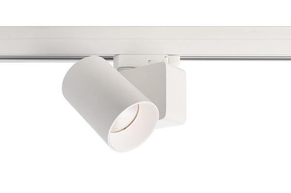 Deko-Light Schienensystem 3-Phasen 230V, Nihal Mini, Aluminium Druckguss, weiß, Neutralweiß, 35°