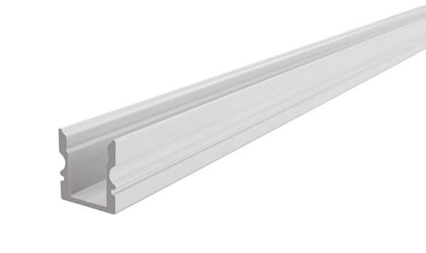 Reprofil Profil, U-Profil hoch AU-02-08, Aluminium, Weiß-matt, 1000mm