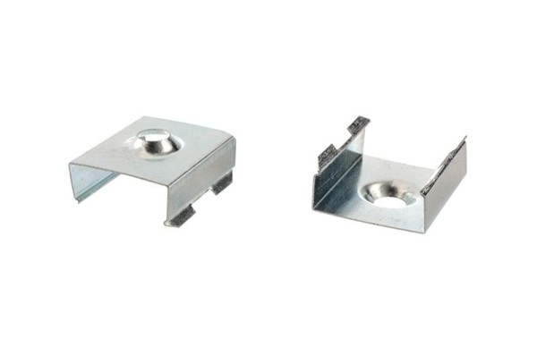 Reprofil Profil Zubehör, Halteklammer - 10 Set 2 Stk, Metall, 20x17mm