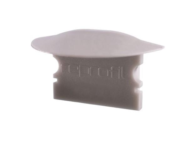 Reprofil Profil Zubehör, Endkappe F-ET-02-15 Set 2 Stk, Kunststoff, Grau, 30x16mm