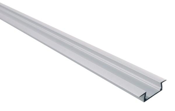 Micro-K, Silber-matt, eloxiert, 1000 mm