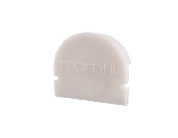 Reprofil Profil Zubehör, Endkappe R-AU-01-12 Set 2 Stk, Kunststoff, Weiß, 18x6mm