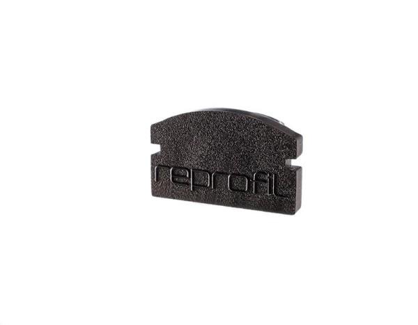 Reprofil Profil Zubehör, Endkappe F-AU-01-08 Set 2 Stk, Kunststoff, Schwarz, 14x6mm