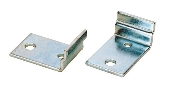 Ivela Schienensystem 3-Phasen 230V, Befestigungswinkel, Metall, Silber