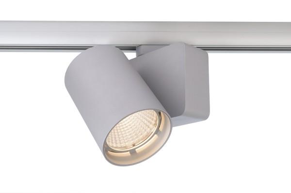 Deko-Light Schienensystem 3-Phasen 230V, Nihal, Aluminium Druckguss, silberfarben, Warmweiß, 33°