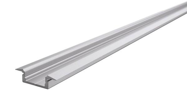 Reprofil Profil, T-Profil flach ET-01-12, Aluminium, Silber-matt eloxiert, 3000mm