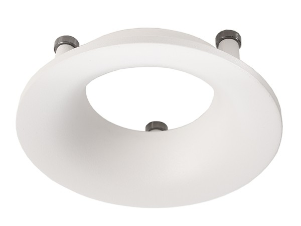 Deko-Light, Reflektor Ring Weiß für Serie Uni II, Aluminium Druckguss, Weiß, IP20