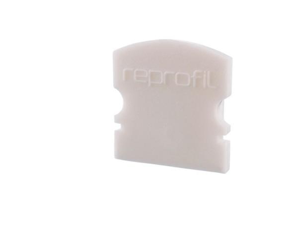 Reprofil Profil Zubehör, Endkappe F-AU-02-10 Set 2 Stk, Kunststoff, Weiß, 16x6mm