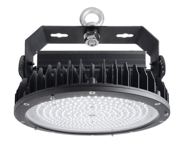 Deko-Light Pendelleuchte, Ainara 300, Aluminium Druckguss, Schwarz, Kaltweiß, 110°, 288W, 230V