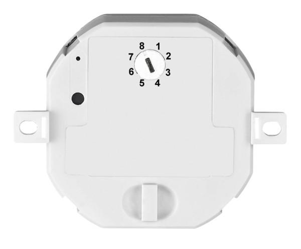 FUNK EINBAU-MULTIDIMMER, mit 6 Speicheradressen, max. 200 Watt Halogen, max. 24 Watt LED