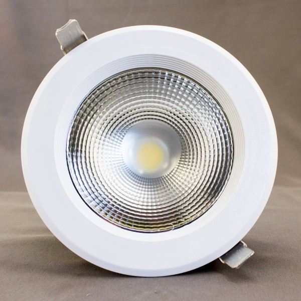LED DOWNLIGHT, weiß, 230V, 30W, 3000K