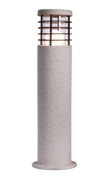 Deko-Light Stehleuchte, Merak, Edelstahl, weiß Granitoptik, 11W, 230V