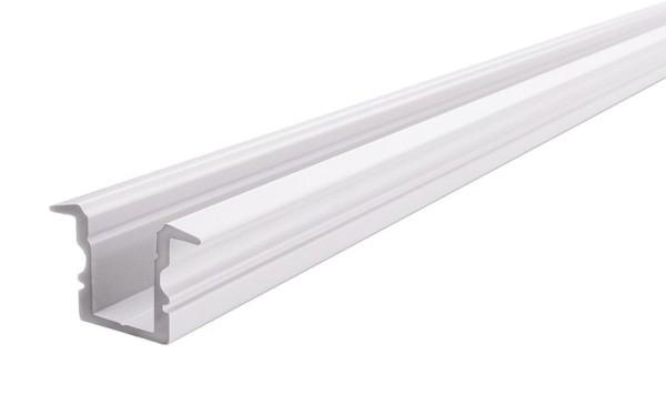 Reprofil Profil, T-Profil hoch ET-02-08, Aluminium, Weiß-matt, 2000mm