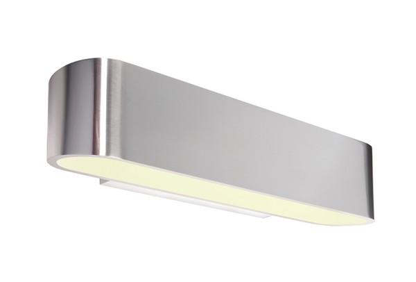 Deko-Light Wandaufbauleuchte, Bootis, Aluminium Druckguss, silberfarben, 160W, 230V, 300x79mm