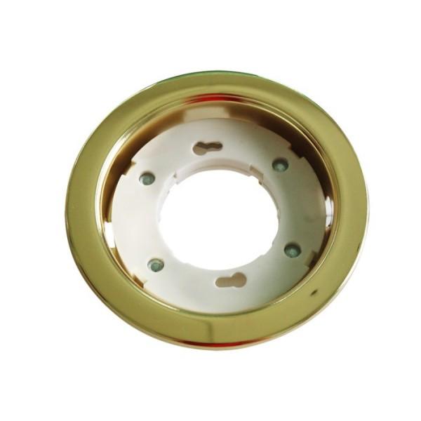 Einbauleuchte GX53, gold, 230V, max. 11W, inkl. Clipfedern
