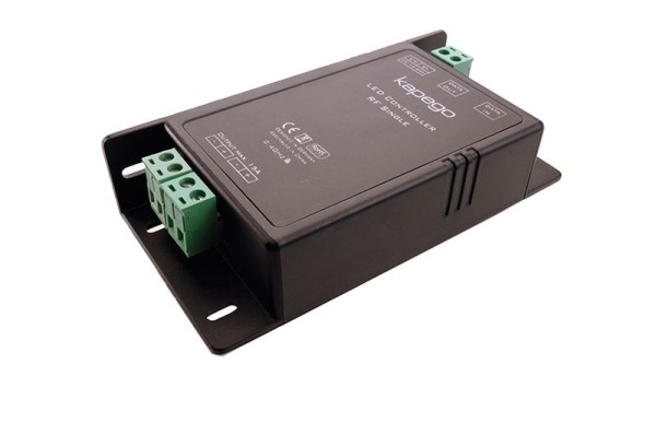 Deko-Light Controller, RF Single, Kunststoff, Schwarz, 12-24V, 115x57mm