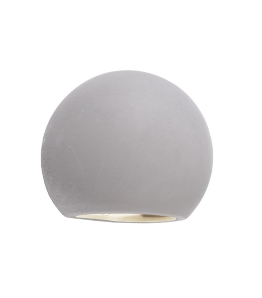 Deko-Light Wandaufbauleuchte, Osano II, Beton, grau, 25W, 230V, 150x130mm