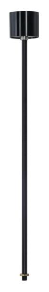 PENDELABHÄNGUNG, für EUTRAC Hochvolt 3Phasen-Aufbauschiene, starr, schwarz , 60 cm, M13 Gewinde