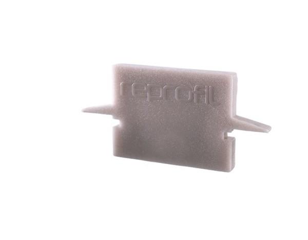 Reprofil Profil Zubehör, Endkappe H-ET-01-10 Set 2 Stk, Kunststoff, Grau, 25x6mm