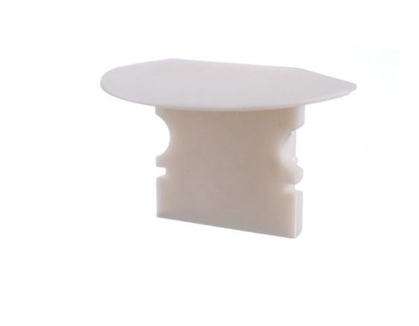 Reprofil Profil Zubehör, Endkappe P-ET-02-08 Set 2 Stk, Kunststoff, Weiß, 23x16mm