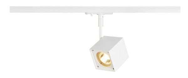 ALTRA DICE, Spot für Hochvolt-Stromschiene 1Phasen, LED GU10 51 mm, eckig, weiß, 50W