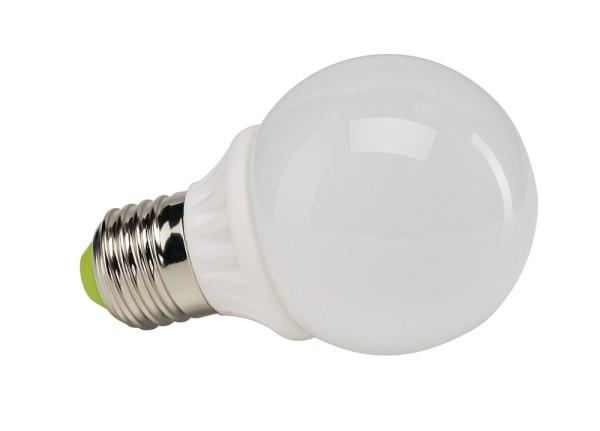 E27 LED SMALL BALL, Leuchtmittel, 450lm, 3000K, 6W