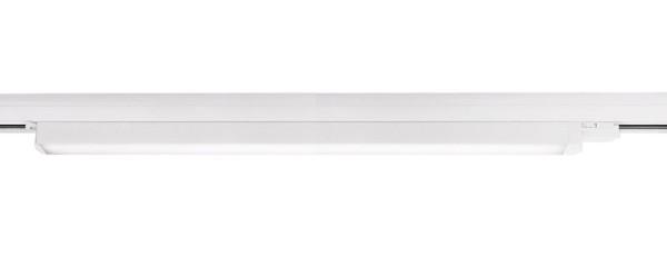 Deko-Light Schienensystem 3-Phasen 230V, Linear 100, Aluminium, weiß mattiert, Neutralweiß, 110°