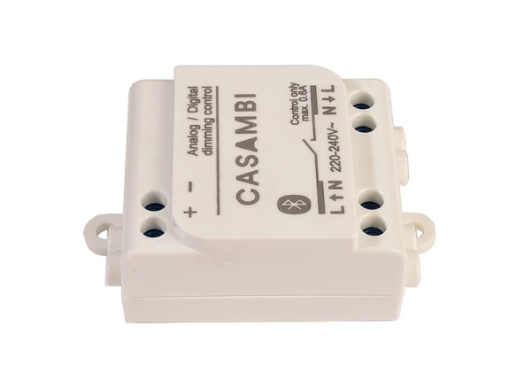 Casambi Controller, Bluetooth Controller CBU-ASD, Kunststoff, Weiß, 1-10V, 57x36mm