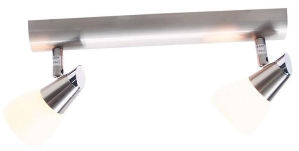 KapegoLED Deckenaufbauleuchte, Vito II, inklusive Leuchtmittel, Warmweiß, spannungskonstant, G9