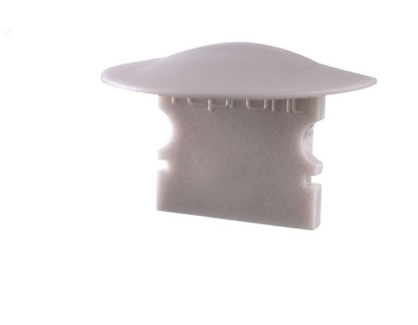 Reprofil Profil Zubehör, Endkappe F-ET-02-10 Set 2 Stk, Kunststoff, Grau, 25x16mm