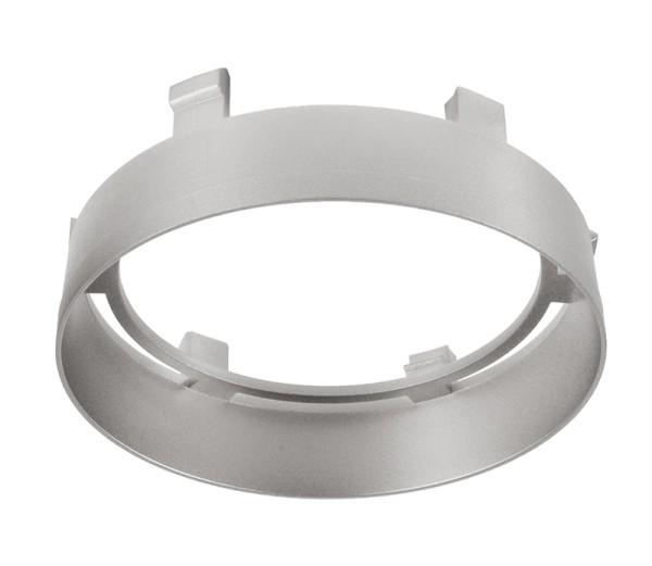 Deko-Light Zubehör, Reflektor Ring Silber für Serie Nihal, Kunststoff, Silber-matt