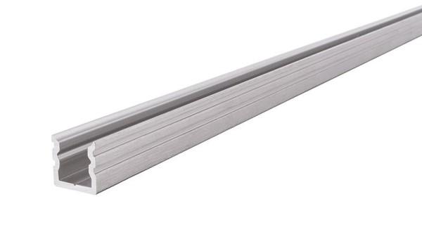 Reprofil Profil, U-Profil hoch AU-02-05, Aluminium, Silber gebürstet, 1000mm