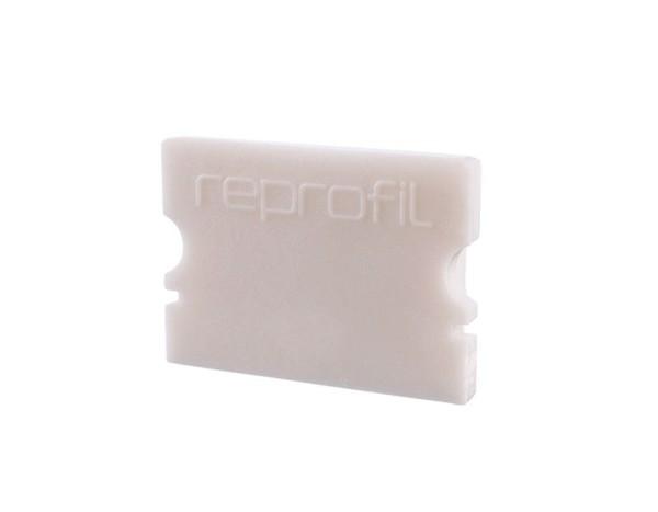 Reprofil Profil Zubehör, Endkappe P-AU-02-15 Set 2 Stk, Kunststoff, Weiß, 21x6mm