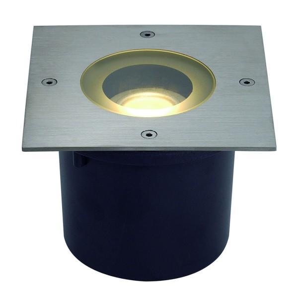 WETSY LED DISK 300 Einbauleuchte, eckig, Edelstahl 316, für Philips LED Disk Module 7W