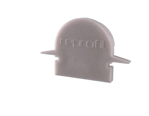 Reprofil Profil Zubehör, Endkappe R-ET-01-10 Set 2 Stk, Kunststoff, Grau, 25x6mm