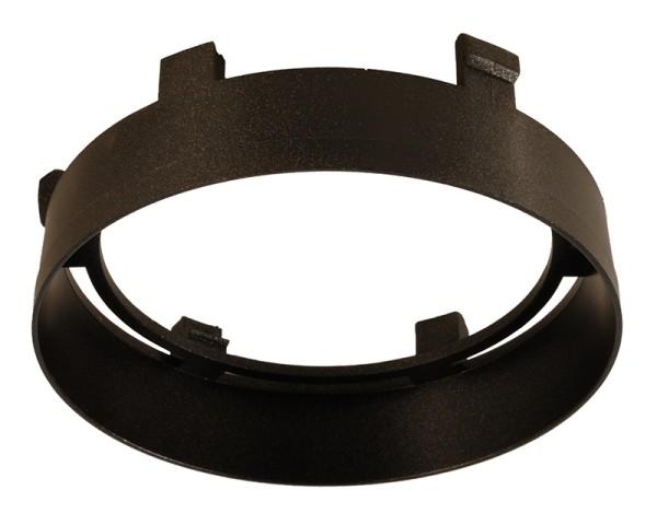 Deko-Light Zubehör, Reflektor Ring Schwarz für Serie Nihal, Kunststoff, Schwarz