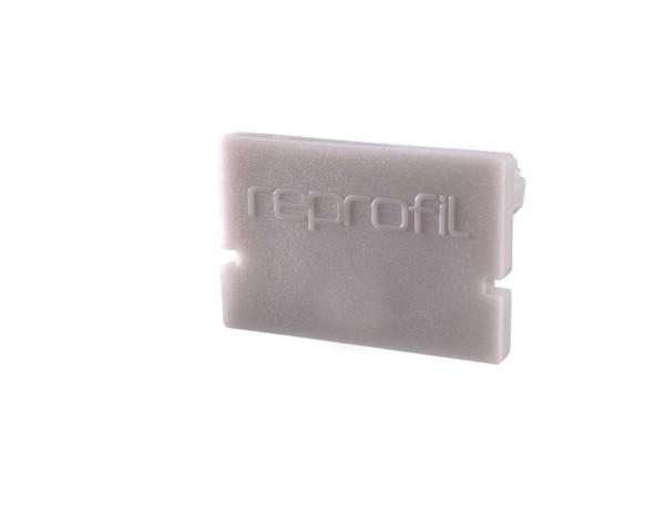 Reprofil Profil Zubehör, Endkappe H-AU-01-12 Set 2 Stk, Kunststoff, Grau, 18x6mm