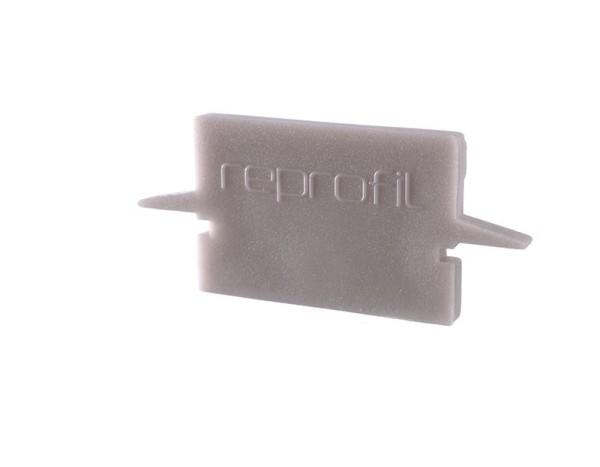 Reprofil Profil Zubehör, Endkappe H-ET-01-12 Set 2 Stk, Kunststoff, Grau, 27x6mm