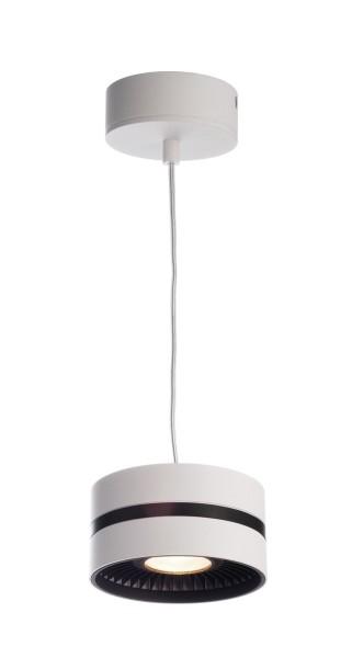 Deko-Light Pendelleuchte, Black & White III, Aluminium Druckguss, weiß, Warmweiß, 40°, 26W, 230V