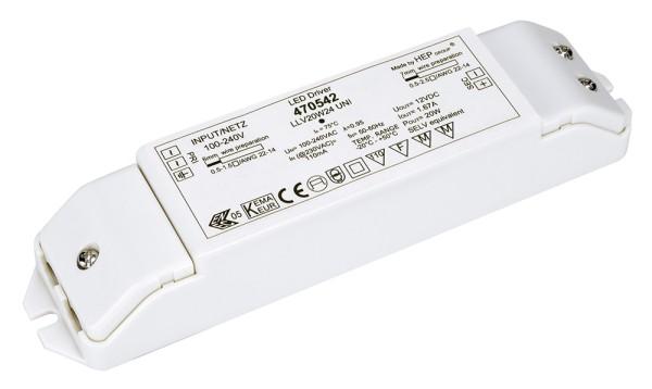 LED-NETZTEIL, 20W, 24V