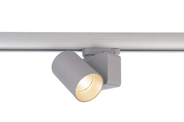 Deko-Light Schienensystem 3-Phasen 230V, Nihal Mini, Aluminium Druckguss, silberfarben, Warmweiß